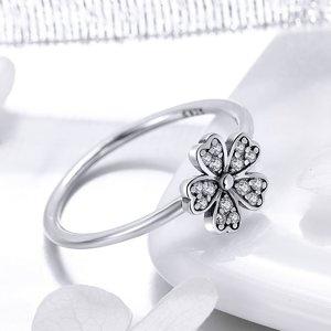 Inel din argint Crystal Daisy