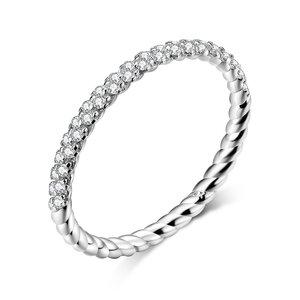Inel din argint Crystals Chain