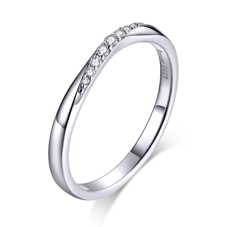 Inel din argint Dazzling Crystal Ring poza 2021