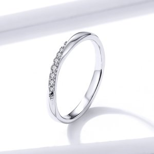 Inel din argint Dazzling Crystal Ring