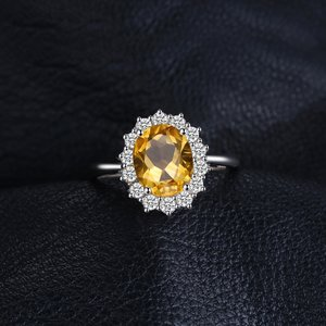 Inel din argint Diana's Citrine Ring