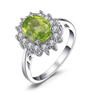 Inel din argint Diana's Peridot Ring