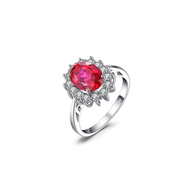 Inel din argint Elegant Ruby poza 2021