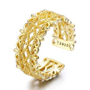 Inel din argint Golden Baroque