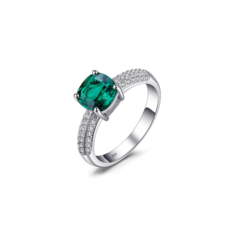 Inel din argint Perfect Emerald poza 2021