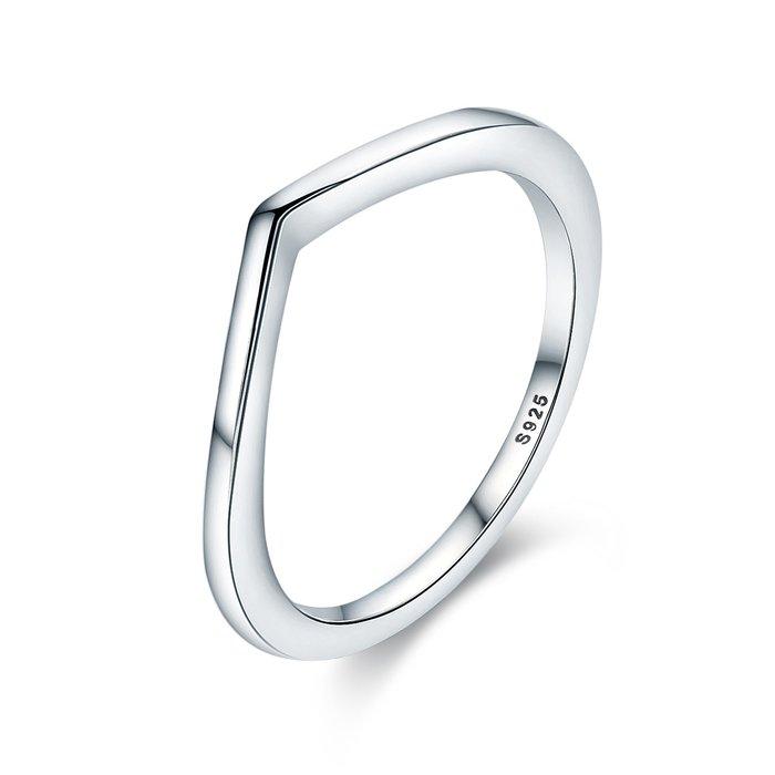 Inel din argint Perfect Gift Classic poza 2021