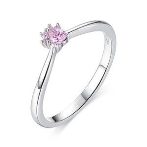 Inel din argint Pink Little Paws