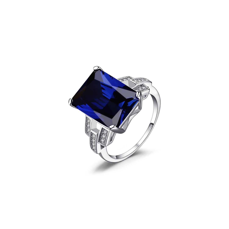 Inel din argint Royal Sapphire poza 2021
