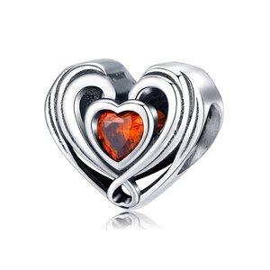 Talisman din argint Angelic Heart