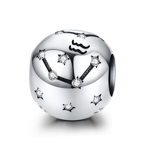 Talisman din argint Aquarius Constellation