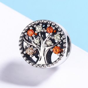 Talisman din argint Autumn Tree