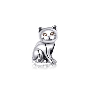 Talisman din argint Baby Cat