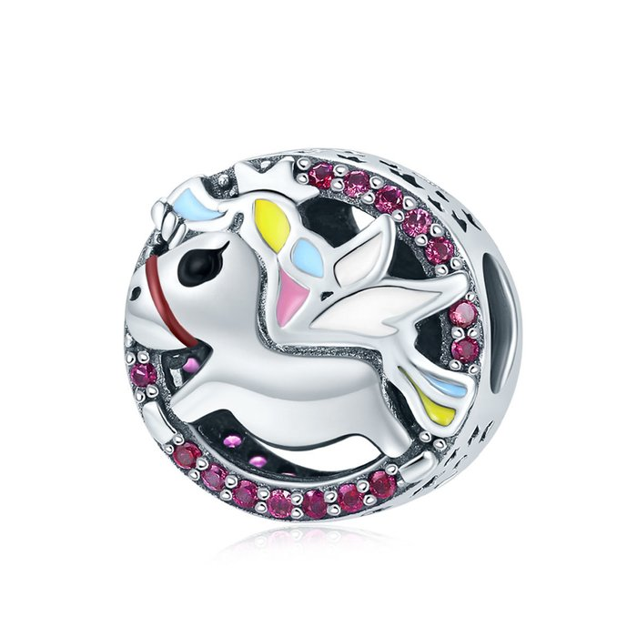 Talisman din argint Baby Unicorn
