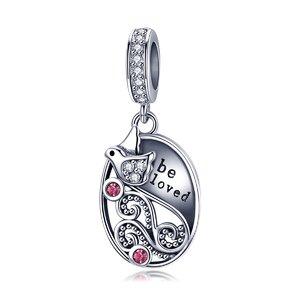 Talisman din argint Be Loved Birdie