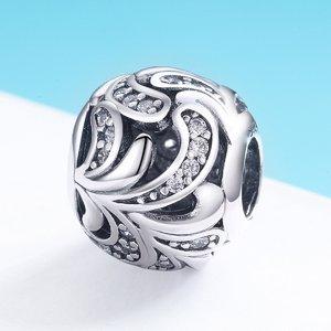 Talisman din argint Blooming Pattern