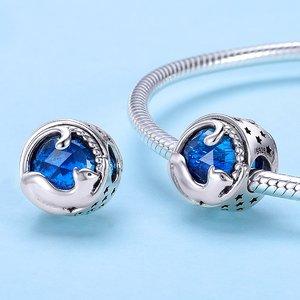 Talisman din argint Blue Kitten