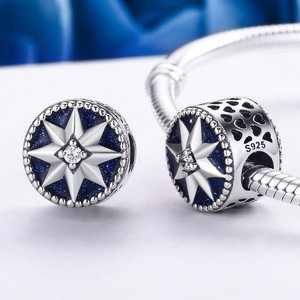 Talisman din argint Blue Star Sky