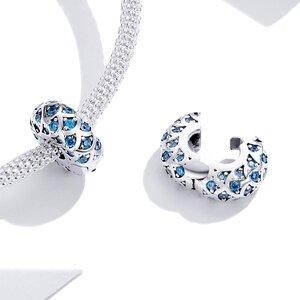Talisman din argint Blue Stones Clip