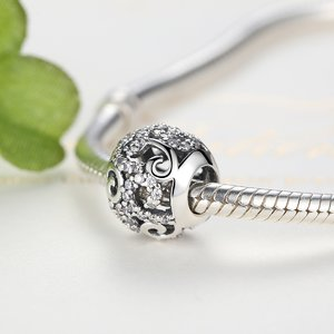 Talisman din argint cu Elemente Patinate