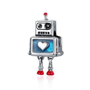 Talisman din argint cu Robotel