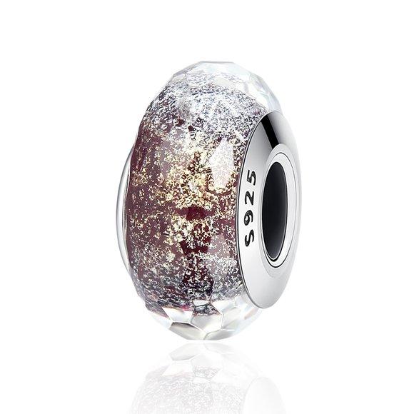Talisman din argint cu sticla Cosmic Dust
