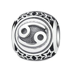 Talisman din argint cu Zodia Rac