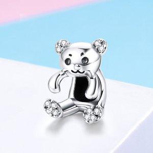 Talisman din argint Cute Bear