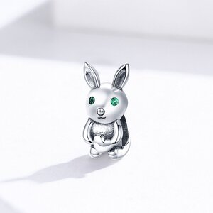 Talisman din argint Cute Rabbit