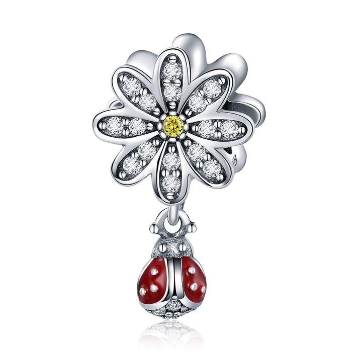 Talisman din argint Daisy Ladybug poza 2021