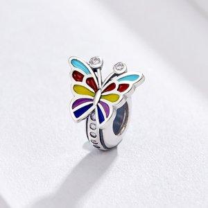 Talisman din argint Dancing Butterfly