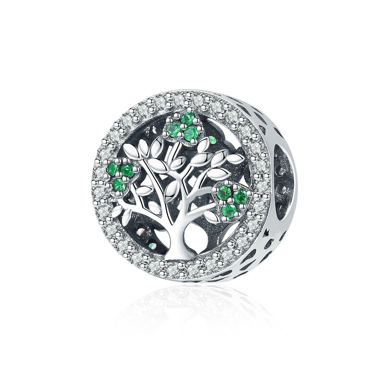 Talisman din argint Dazzling Tree poza 2021