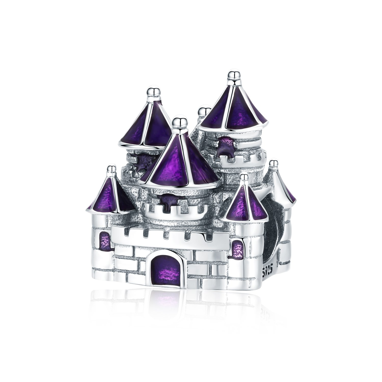 Talisman din argint Fairytail Castle poza 2021