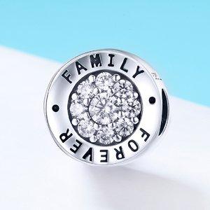 Talisman din argint Family Forever