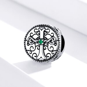 Talisman din argint Forever Love Cross