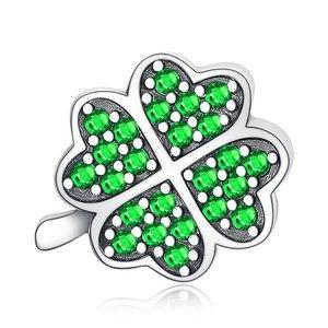 Talisman din argint Four Leaf Clover
