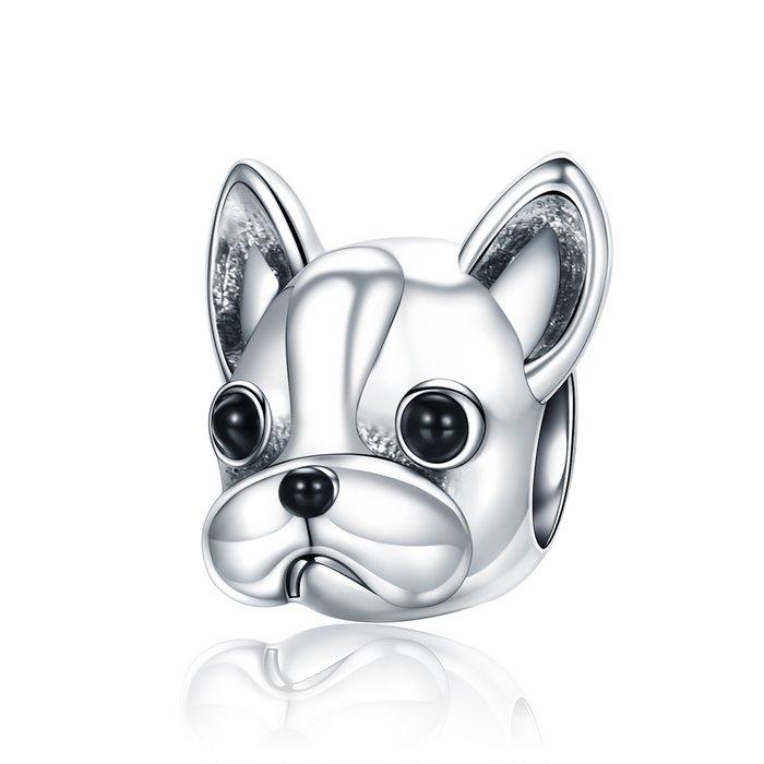 Talisman din argint French Bulldog