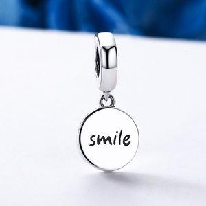 Talisman din argint Funny Smile