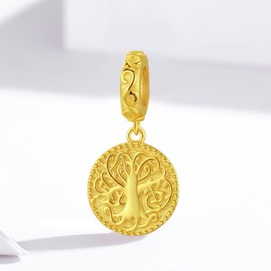 Talisman din argint Golden Tree of Life
