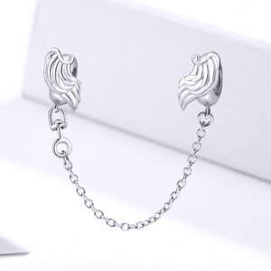 Talisman din argint Guardian Wings Safety Chain