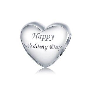 Talisman din argint Happy Wedding Day