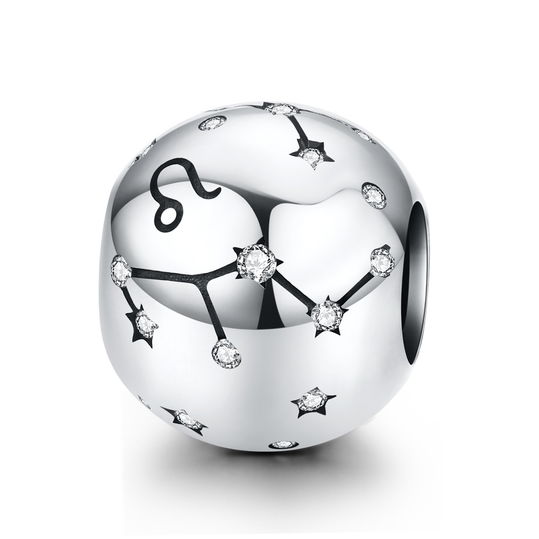 Talisman din argint Leo Constellation poza 2021