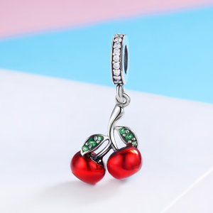 Talisman din argint Little Cherry
