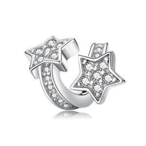 Talisman din argint Little Shining Stars