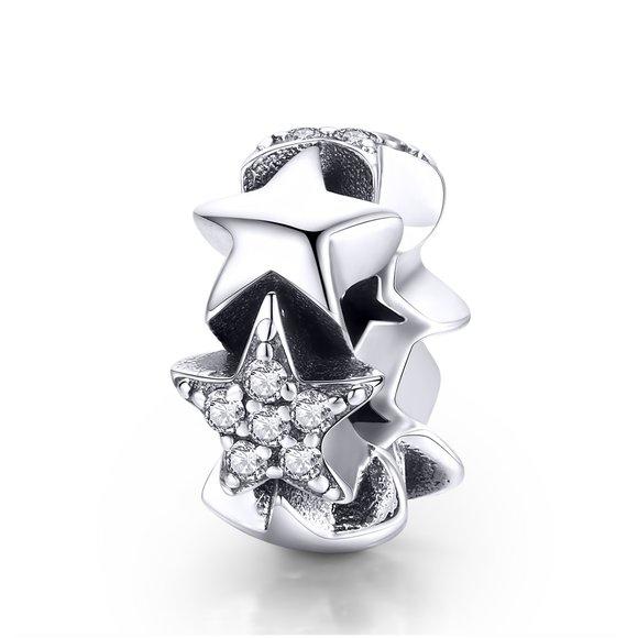 Talisman din argint Little Stars Charm