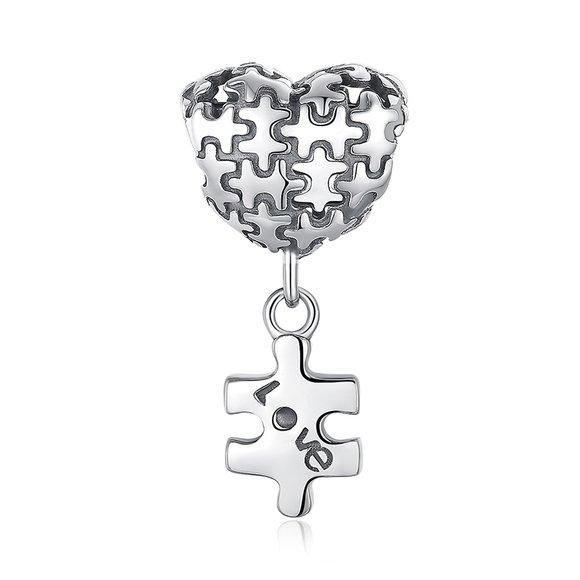 Talisman din argint Love Puzzle