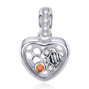 Talisman din argint Lovely Honey Bee