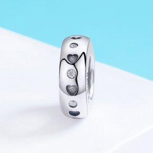 Talisman din argint Lucky Hearts