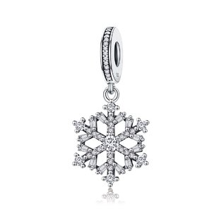 Talisman din argint Magic Snowflake