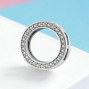 Talisman din argint Metropolitan Circle Bead