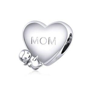 Talisman din argint Mom's Little Angel